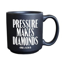 Quotable Cards Espresso Mug - Pressure Diamonds