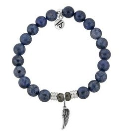 Tiffany Jazelle Core Collection Bracelet, Dumortierite, Angel Wing