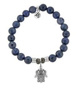 Tiffany Jazelle Core Collection Bracelet, Dumortierite, Hand of God