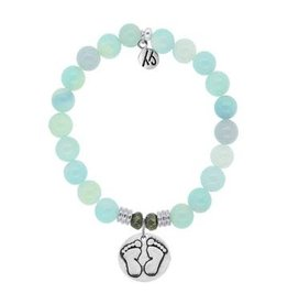 Tiffany Jazelle Core Collection, Aqua Agate, Baby Feet