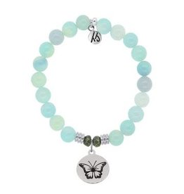Tiffany Jazelle Core Collection, Aqua Agate, Butterfly