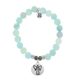 Tiffany Jazelle Core Collection, Aqua Agate, Guardian Angel