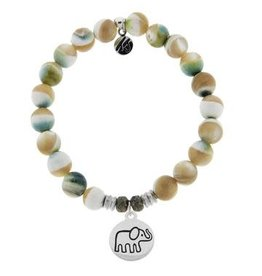 Tiffany Jazelle Core Collection, Pearl Shell, Elephant