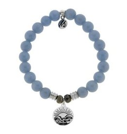 Tiffany Jazelle Core Collection Bracelet, Angelite, Rising Sun