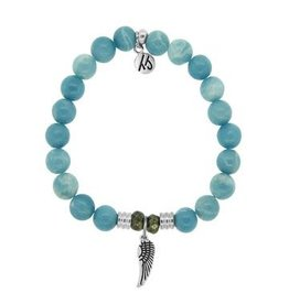 Tiffany Jazelle Core Collection, Sky Agate, Angel Wing