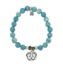 Tiffany Jazelle Core Collection, Sky Agate, Baby Feet