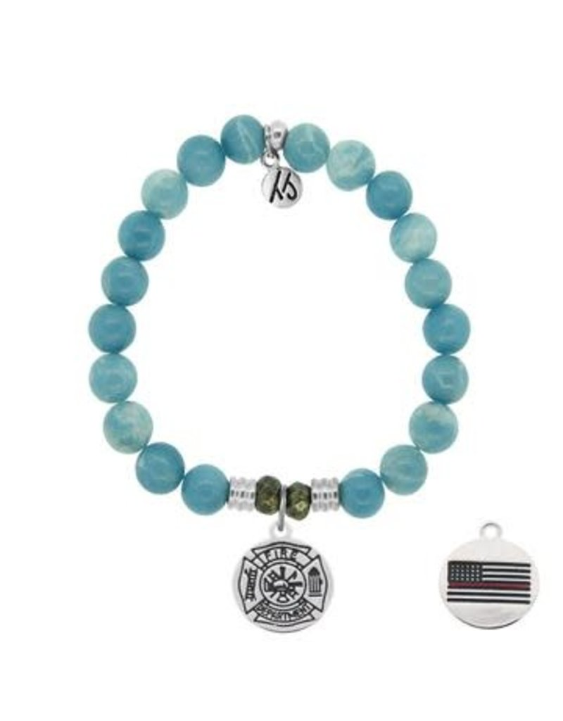 Tiffany Jazelle Core Collection, Sky Agate, Firefighter
