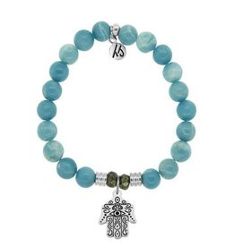 Tiffany Jazelle Core Collection, Sky Agate, Hand of God