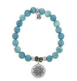 Tiffany Jazelle Core Collection, Sky Agate, Mandala