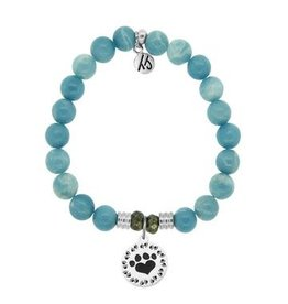 Tiffany Jazelle Core Collection, Sky Agate, Paw Print