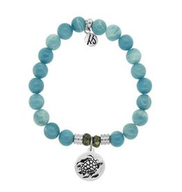 Tiffany Jazelle Core Collection, Sky Agate, Turtle