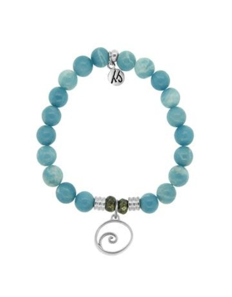 Tiffany Jazelle Core Collection, Sky agate, Wave