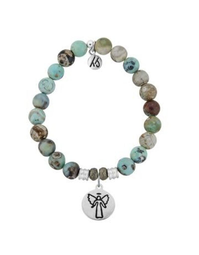 Tiffany Jazelle Core Collection, Turquoise Jasper,Guardian Angel