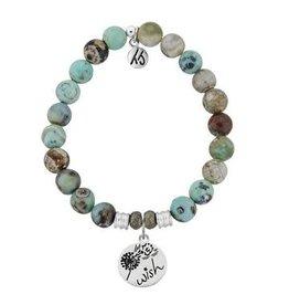 Tiffany Jazelle Core Collection Bracelet, Turquoise Jasper, Wish