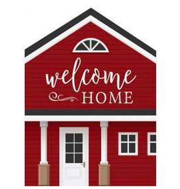 P. Graham Dunn Welcome Home, 3.5 x 4.5