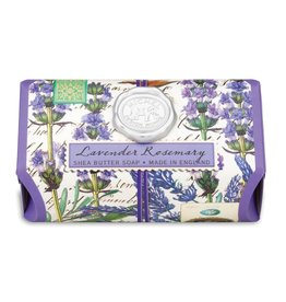 Michel Design Works Lavender Rosemary Large Bath Soap Bar