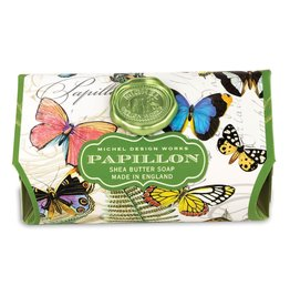 Michel Design Works Papillon Large Bath Soap Bar