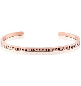 Mantraband Everything Happens For A Reason, Rose