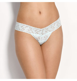 Hanky Panky Low Rise Thong, Light Blue, o/s