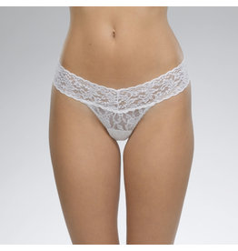Hanky Panky Low Rise Thong, White, o/s