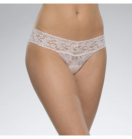 Hanky Panky Low Rise Thong, Blush, o/s