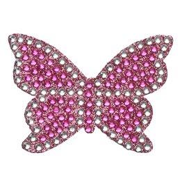 Sticker Beans Butterfly Pink