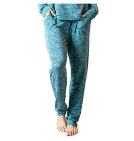 Hello Mello Carefree Threads Drawstring Lounge Pants, Teal