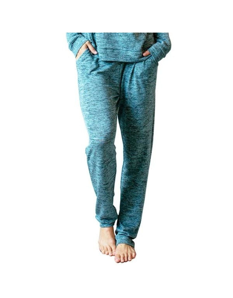 8f5ce8abc04 Hello Mello Carefree Threads Drawstring Lounge Pants, Teal