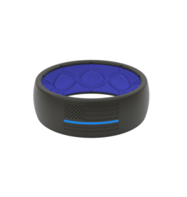 Groove + Life Groove Protector Silicone Ring - Original - Police Blue
