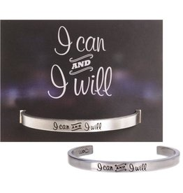 Whitney Howard Designs I Can and I Will Quotable Cuff