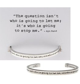 Whitney Howard Designs The Question Quotable Cuff