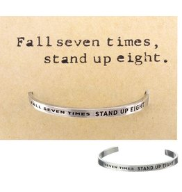 Whitney Howard Designs Fall Seven Times Quotable Cuff