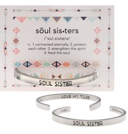 Whitney Howard Designs Soul Sister Quotable Cuff