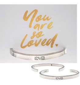 Whitney Howard Designs Loved Quotable Cuff