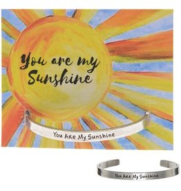 Whitney Howard Designs You Are My Sunshine Quotable Cuff