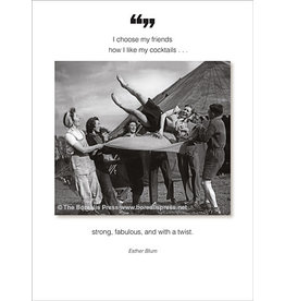 Borealis Press Card - I Choose My Friends...