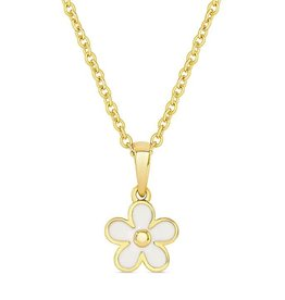 Lily Nily Flower Pendant (White)