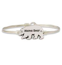 Luca & Danni Mama Bear Silver Wire Wrapped Bracelet