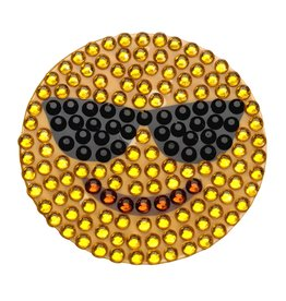 Sticker Beans Smiley with Sunglasses