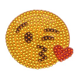 Sticker Beans Kissing Emoji