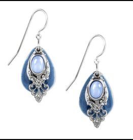 Silver Forest Silver Blue Filigree