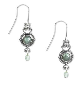 Silver Forest Silver Aventurine with Dangle