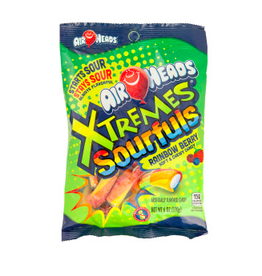 Nassau Candy Airheads Xtremes, Sourfuls Rainbow Berry