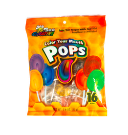 Nassau Candy Color Your Mouth Flat Pop