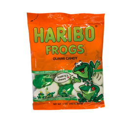 Nassau Candy Haribo Gummy Frogs