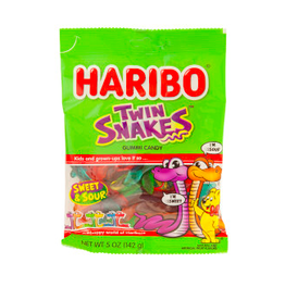 Nassau Candy Haribo Twin Snakes