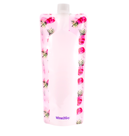 Wine2Go Foldable Wine Bottle- Pineapple