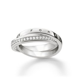 Thomas Sabo Ring - Silver ''Together Forever'' 7 1/2