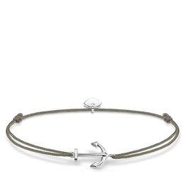 Thomas Sabo Adjustable Bracelet Silver Anchor Charm