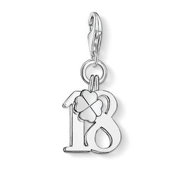 Thomas Sabo Charm Lucky Number 18